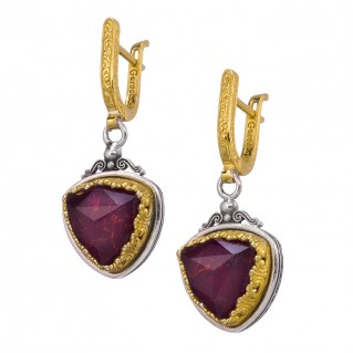 0200P1805N_designer_gerochristo_silver_gold_plated_doublet_ruby_medieval_dangle_omega_earrings_30