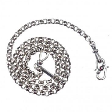 Gerochristo 4010N ~ Sterling Silver Rolo Chain - M