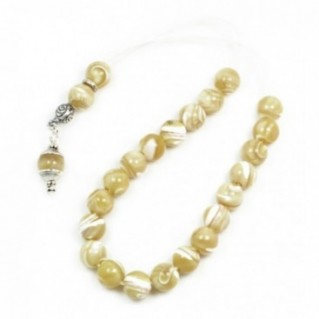 Ladies Worry Beads - Komboloi ~ Mother of Pearl-MOP
