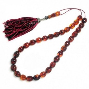 Worry Beads-Tasbih-Masbaha-Komboloi ~ Collectible, Antique Amber