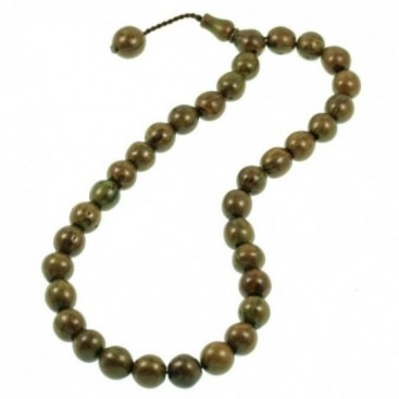 Prayer Beads-Tasbih-Masbaha ~ Scented Juniper Seeds - Green - S