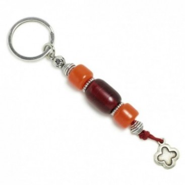 Keyring-Key Chain ~ High Quality Artificial Resin & Cross