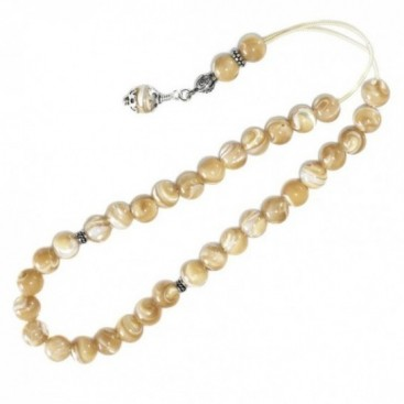 Prayer Beads - Komboloi ~ Mother of Pearl-MOP