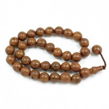 Prayer Beads-Tasbih-Masbaha ~ Scented Juniper Seeds - Brown - S