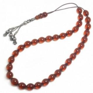 Prayer Beads-Tasbih-Masbaha-Komboloi ~ Collectible, Antique Baltic Amber