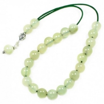 Worry Beads-Komboloi ~ Jade Gemstone - Round