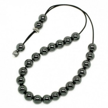 Worry Beads-Greek Komboloi ~ Hematite Gemstone - Round