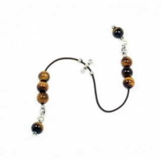 Begleri Beads - Tiger's Eye Gemstone - Round Shape