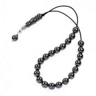 Worry Beads-Greek Komboloi ~ Hematite Gemstone - Round Shape