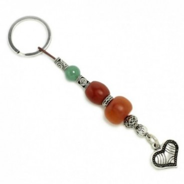 Keyring-Key Chain ~ High Quality Artificial Resin & Heart