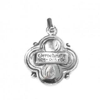 Gerochristo 1181 ~ Sterling Silver & Pearl Medieval-Byzantine Pendant