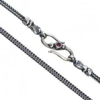 Gerochristo 3052 ~ Sterling Silver Byzantine Chain