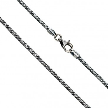 Gerochristo 3053 ~ Sterling Silver Antique Look Chain