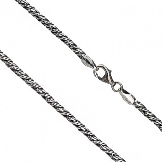 Gerochristo 3054 ~ Sterling Silver Antique Look Chain