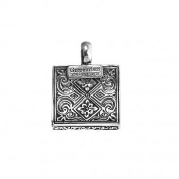 Gerochristo 3189N ~ Sterling Silver Medieval-Byzantine Pendant