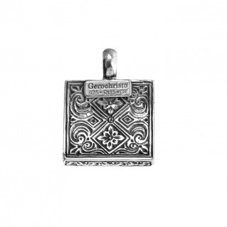 Gerochristo 3190N ~ Sterling Silver Medieval-Byzantine Pendant