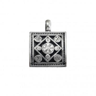 Gerochristo 3191N ~ Sterling Silver Medieval-Byzantine Pendant
