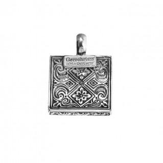 Gerochristo 3192N ~ Sterling Silver Medieval-Byzantine Pendant