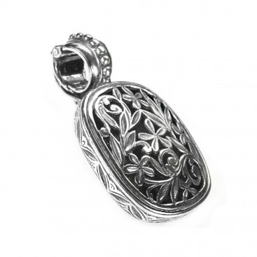 Gerochristo 3343 ~ Filigree Medieval-Byzantine Pendant- Sterling Silver