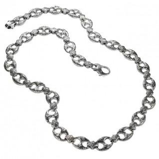 Gerochristo 3348 ~ Sterling Silver Medieval Byzantine Necklace