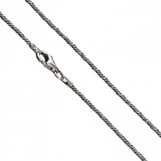 Gerochristo 3398 ~ Sterling Silver Antique Look Chain