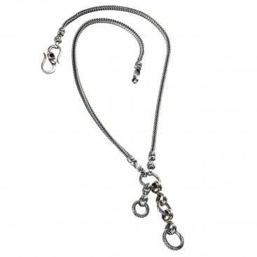 Gerochristo 3454 ~ The Basic Cable Charms - Byzantine-Medieval Chain-Necklace