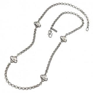 Gerochristo 4064N ~ Sterling Silver Medieval Byzantine Station Necklace