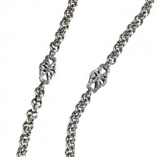 Gerochristo 4066N ~ Sterling Silver Medieval Byzantine Station Necklace