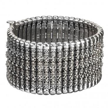 Gerochristo 6039 ~ Solid Sterling Silver Medieval-Byzantine Bracelet