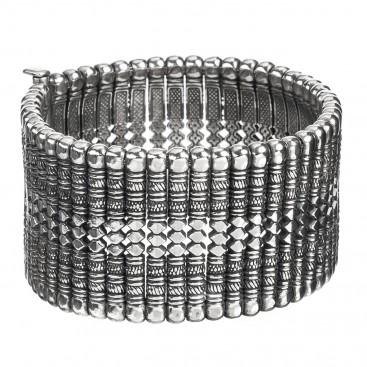 Gerochristo 6040 ~ Solid Sterling Silver Medieval-Byzantine Bracelet