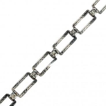 Gerochristo 6230N ~ Sterling Silver Medieval-Byzantine Link Bracelet