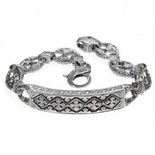 Gerochristo 6291 ~ Sterling Silver Medieval Byzantine Bracelet