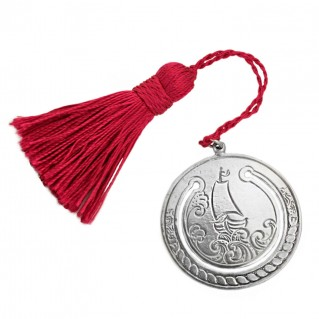 Gerochristo 9009 ~ Sterling Silver Bookmark with Tassel