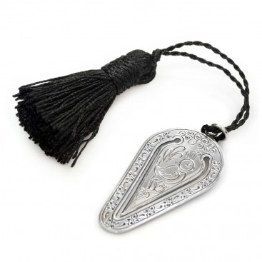Gerochristo 9010 ~ Sterling Silver Bookmark with Tassel