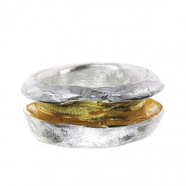 Polemis 11-0 - Sterling Silver Wrap Ring