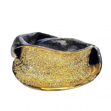 Polemis 11-7 - Sterling Silver Wrap Ring