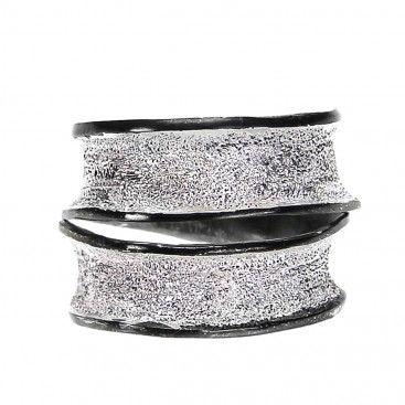 Polemis 203 - Sterling Silver Wrap Ring