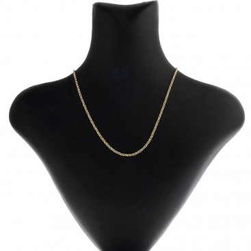 14K Solid Yellow Gold Rolo Chain 2.3 mm - Hollow