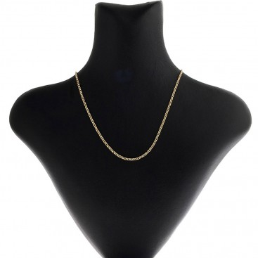 14K Solid Yellow Gold Rolo Chain 2.3 mm - Solid