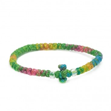 Prayer Rope Bracelet ~ Komboskini ~ Chotki - Multicolor