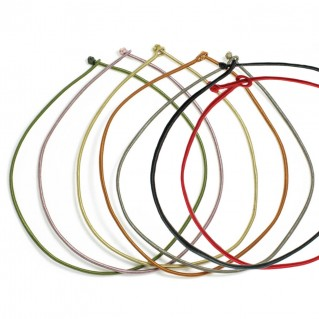 Cord Choker Necklace in various colors - 45
