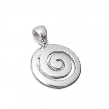 Spiral ~ Sterling Silver Pendant