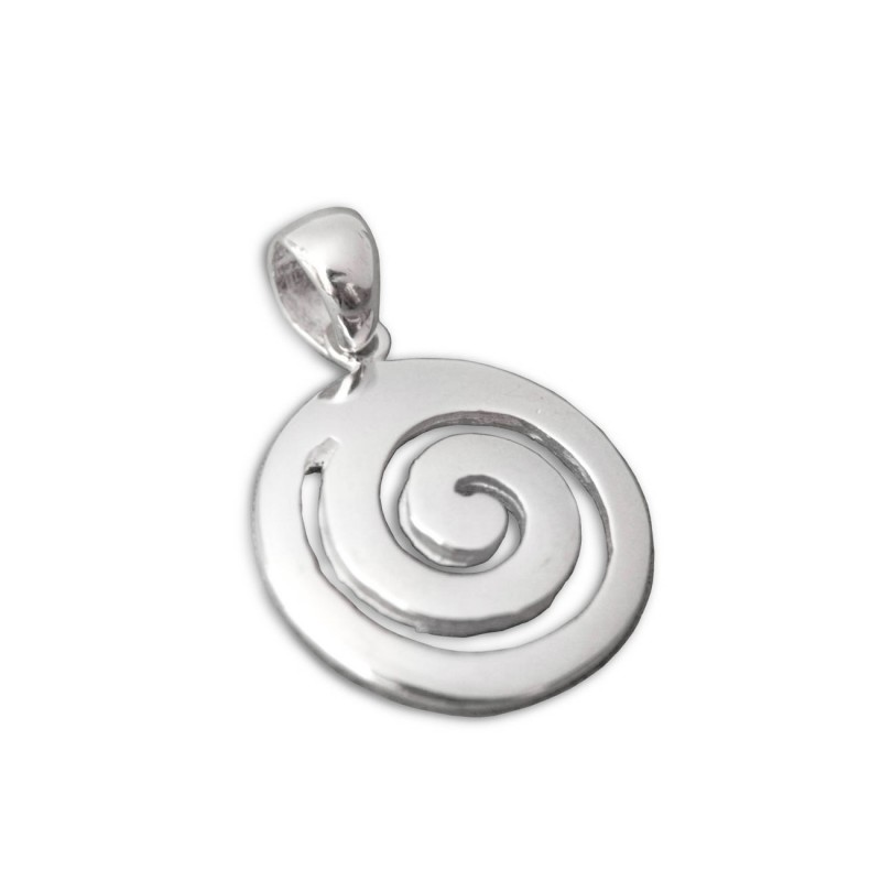 NEW! Spiral Cross Pendant in SOLID Sterling Silver