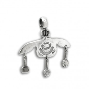 Minoan Malia Bees ~ Sterling Silver Pendant - S