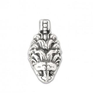 Lion's Head ~ Sterling Silver Pendant