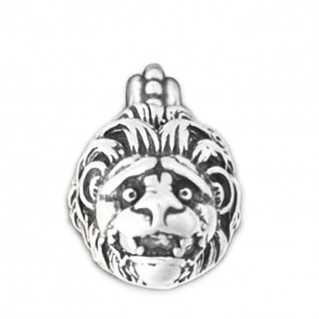 Lion's Head ~ Sterling Silver Pendant