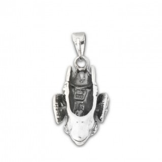 Ram's Head ~ Sterling Silver Pendant