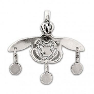 Minoan Malia Bees ~ Sterling Silver Pendant - M