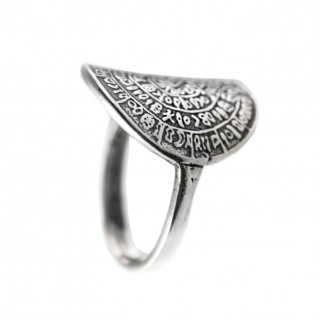 Minoan Phaistos Disk - Sterling Silver Ring