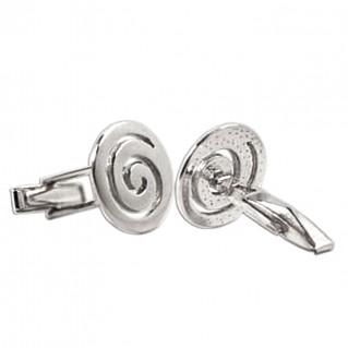 Spiral ~ Sterling Silver Cufflinks